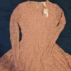 Long Sleeve, Lace H&M dress